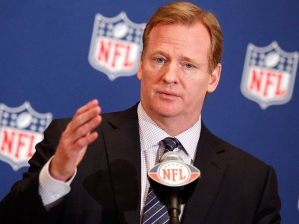 NFL commissioner Roger Goodell admits that he got Ray Rice's two-game suspension wrong. (Rob Foldy/USA TODAY Sports)